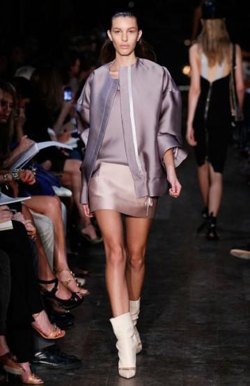 Пола, топ и сако от коприна Victoria Beckham Пролет-Лято 2012