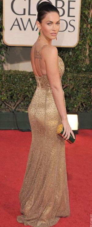 Меган Фокс в рокля Ralph Lauren