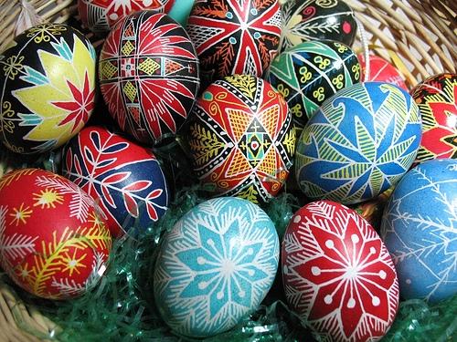 Украински великденски яйца