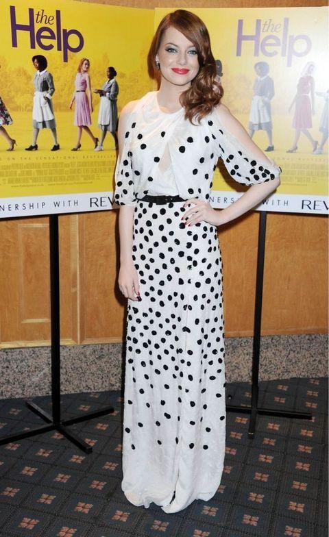 Ема Стоун на премиера на Южнячки в Лондон