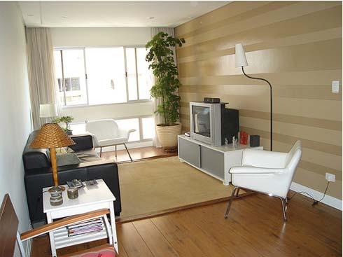 Интериор за малък апартамент - хол