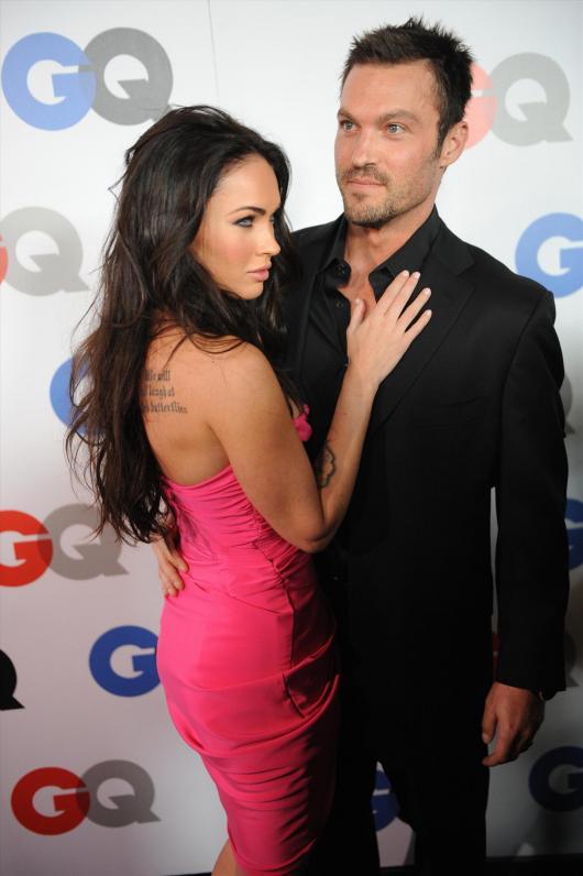 Меган Фокс със съпруга си