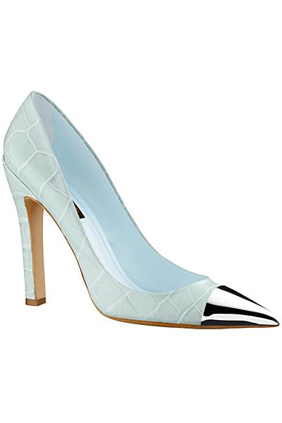 Млечно сини обувки на ток  Louis Vuitton Пролет-Лято 2012