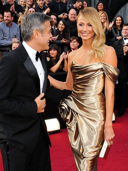 Джордж Клуни с приятелката си Стейси Киблър