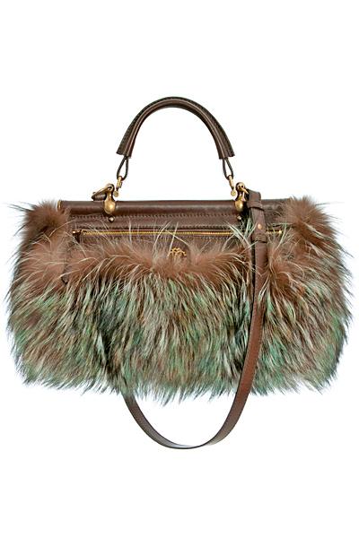 Малка пухкава чанта Roberto Cavalli Есен-Зима 2011
