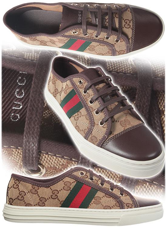 Спортни обувки Gucci  с класически принт