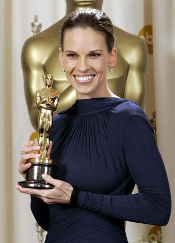 Хилъри Суонк с Оскар за най-добра актриса в Момиче за 1 милион долара, Оскари 2005