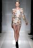 Къса флорална рокля с ръкави Balmain пролет 2012