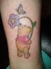 Цветна татуировка с Мечо Пух