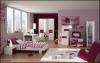 Детска стая за момиче с розови декорации