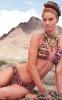 Бански 2 части с леопардов мотив и шарки Agua Bendita 2012