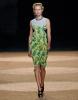 Флорална рокля до коляното в жълто Proenza Schouler пролет-лято 2012