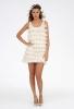 Къса булчинска рокля на ресни Melissa Sweet пролет 2012