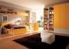 Детска стая за момиче с мебели в жълто