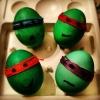 Великденски яйца костенурките нинджа