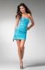 Малка рокля в синьо за бал 2012