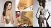 Татуировки по гърба на Анджелина Джоли