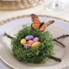 Декорация за чиния на Великден гнездо