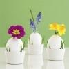 Великденски яйца с истински цветя