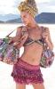 Розова шарена поличка за плаж Agua Bendita 2012