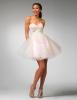 Къса рокля тип балерина в много бледо розово за бал 2012