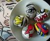 Великденски яйца украсени като комикс