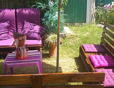 мебели от стари палети