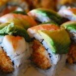 Суши с хрупкаво пиле