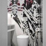 Просторен апартамент в Украйна - тоалетна