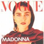 Мадона на корицата на Vogue Великобритания през февруари 1989 г