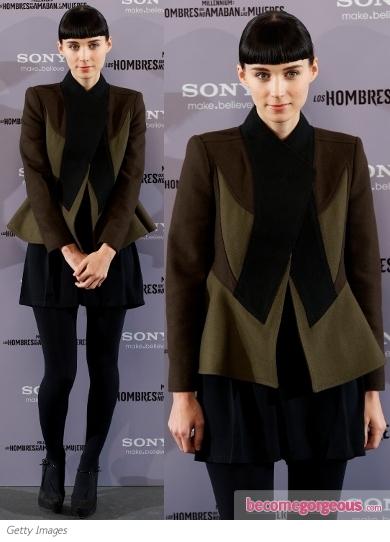 Рууни Мара в къси панталонки и сако Givenchy