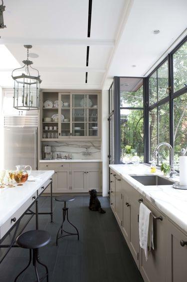 Остъклена малка кухня