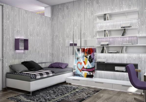 Просторен апартамент в Украйна - спалня за деца