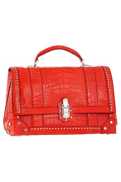 червена чанта на Roberto Cavalli