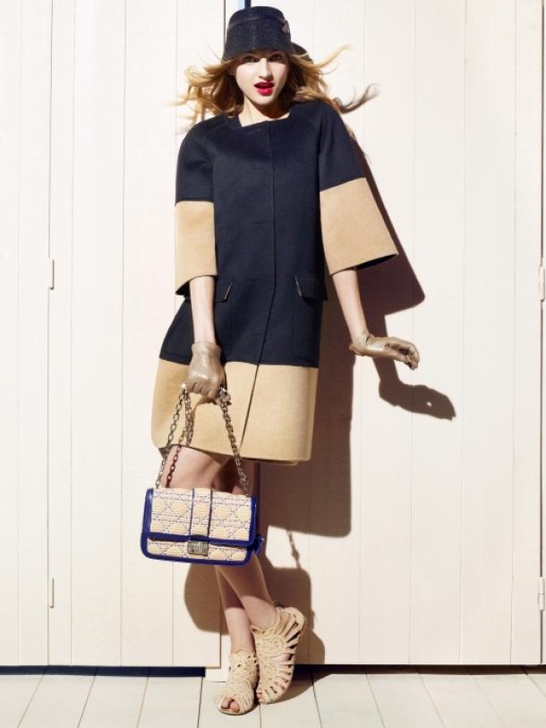 стилна рокля на Christian Dior