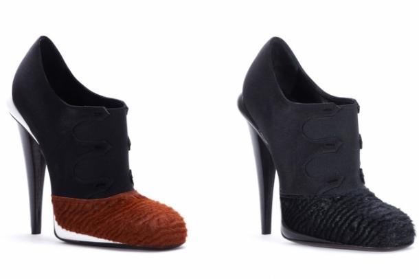 обувки на Fendi