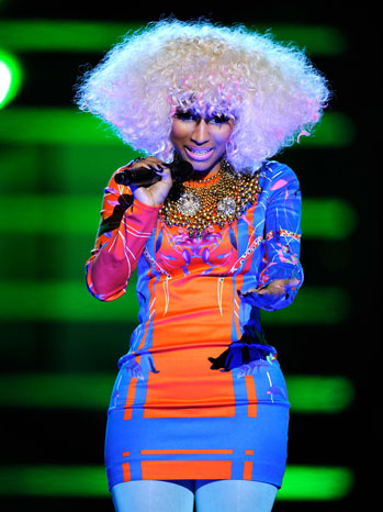 Ники Минаж на VH1 Divas Salute the troops