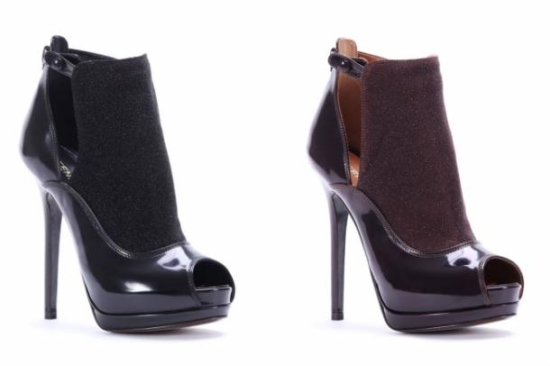 колекция обувки на Fendi