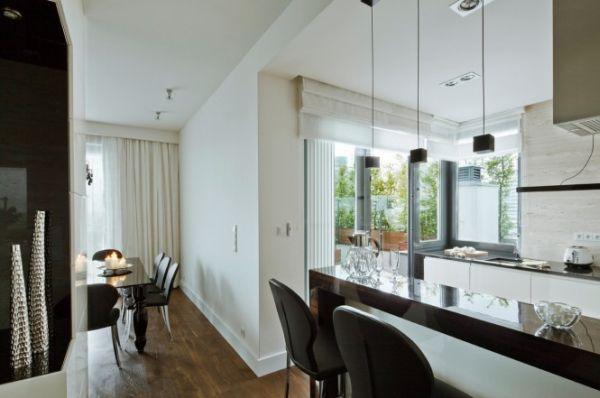 Апартамент в Полша - плот и кухня