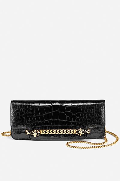 Малка коктейлна чанта в черно Gucci за Пролет-лято 2012