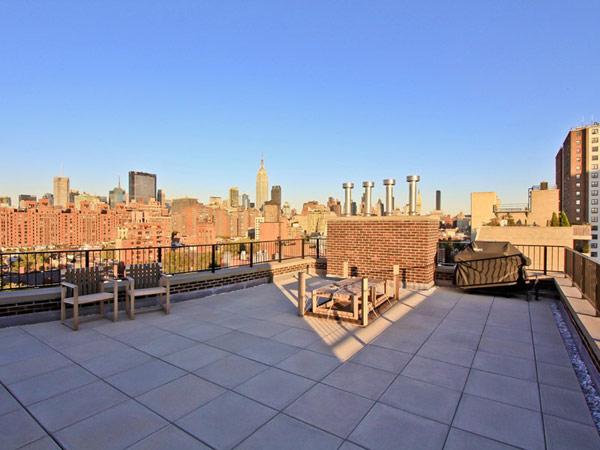 мезонет в Ню Йорк - тераса на покрива