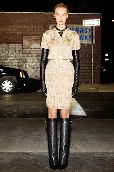 Делова рокля по тялото с висока талия Givenchy 2012