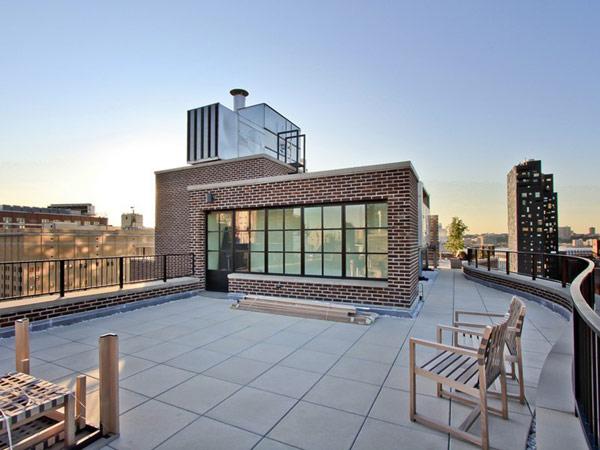 мезонет в Ню Йорк - тераса на покрива 2