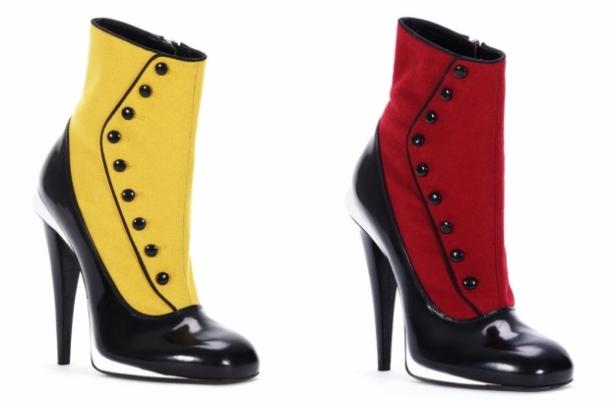 есенна колекция обувки на Fendi за 2012