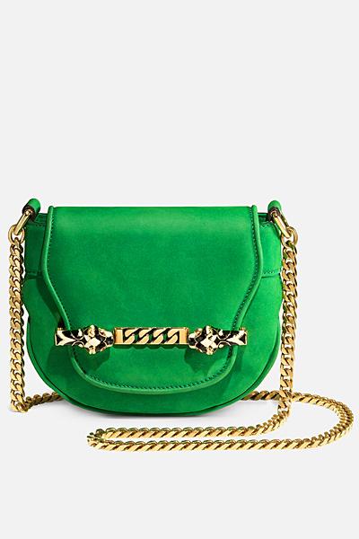 Зелена малка чанта Gucci за Пролет-лято 2012