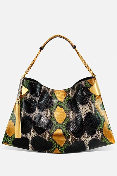 Голяма змийска чанта за рамо Gucci за Пролет-лято 2012