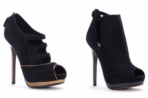 колекция обувки на Fendi 2012