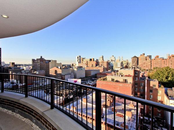 мезонет в Ню Йорк - гледка от терасата на покрива