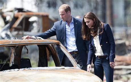 Кейт и Уилям в Канада