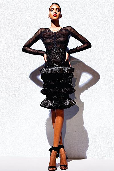 Tom Ford черна рокля мрежа с няколко кринолина